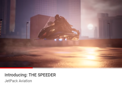 THE SPEEDER 世界初のフライングバイク / The world's first flying bike
