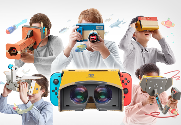 Nintendo Labo Toy-Con 04:VR Kit発表 Switchで手軽にVR体験が出来る? / Switch makes it easy to experience VR?