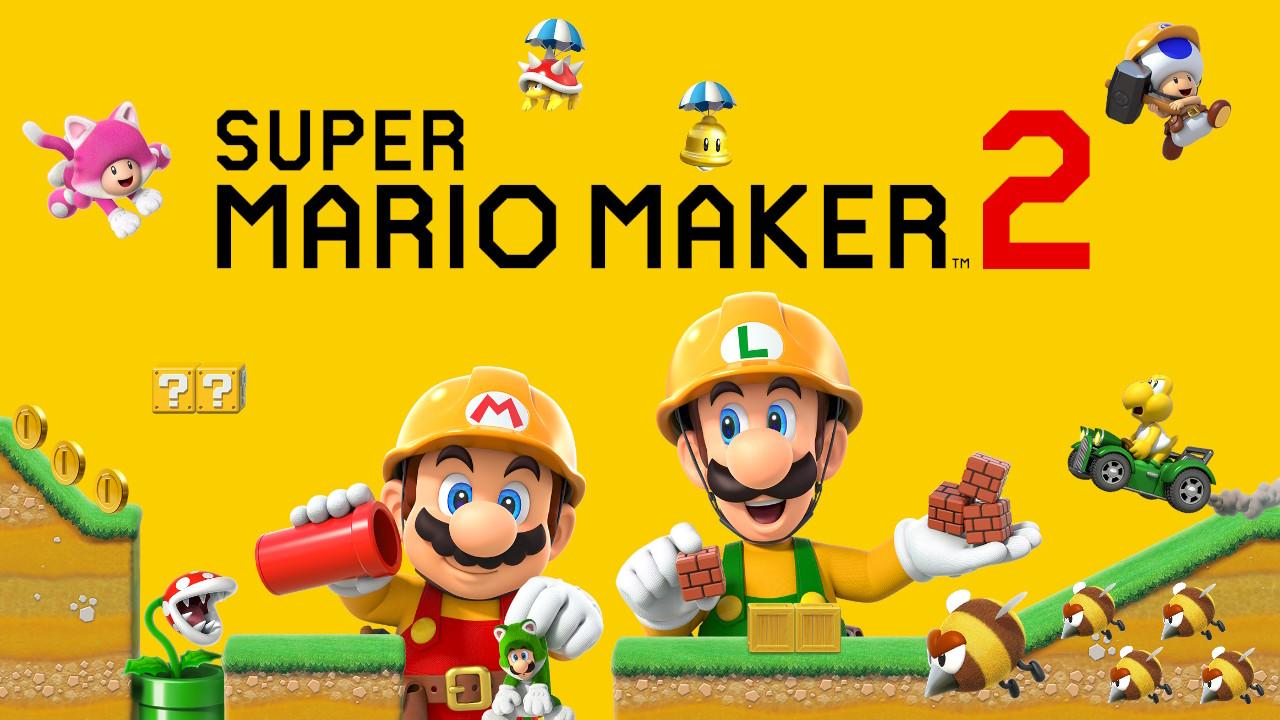 マリオメーカー2は楽しいけれど時間が溶ける / Mario Maker 2 is fun but time melts